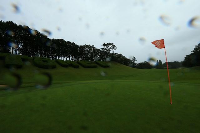 2020年 スタンレーレディスゴルフトーナメント 2日目 東名CC 台風による大雨のため2日目の競技は中止に