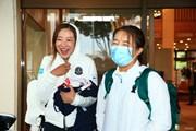 2020年 スタンレーレディスゴルフトーナメント 2日目 永峰咲希と松田鈴英