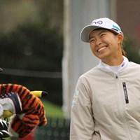 スタート前は笑顔だったが… 2020年 KPMG全米女子プロゴルフ選手権 3日目 渋野日向子