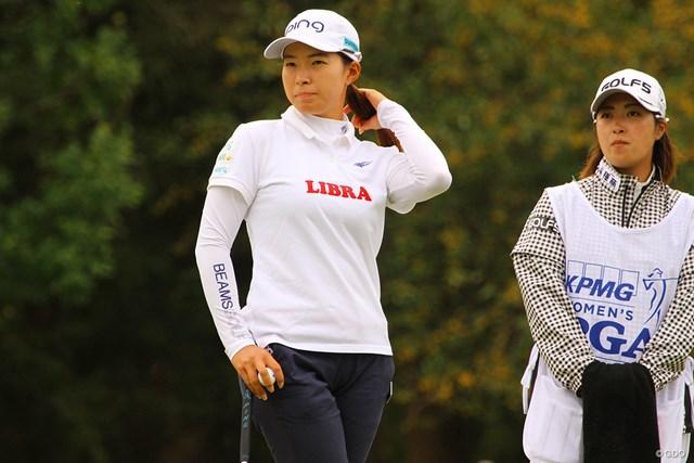 2020年 KPMG全米女子プロゴルフ選手権 3日目 渋野日向子 スタートホールで大きくつまずく3日目となった