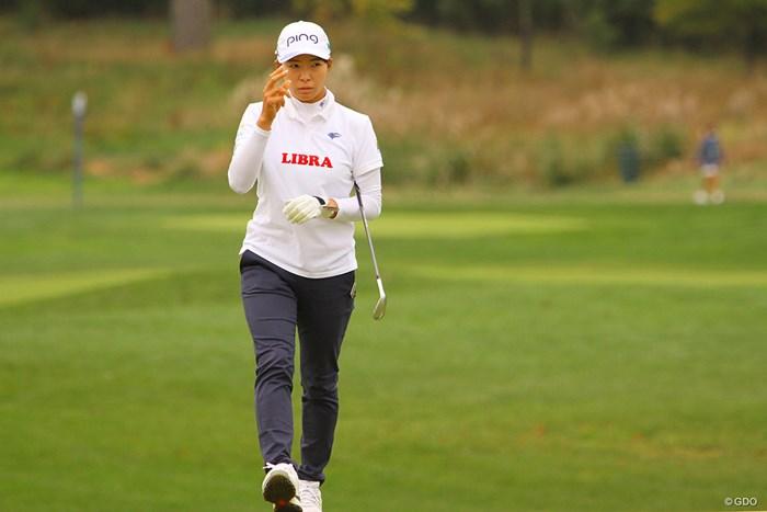 2カ月に及ぶ海外転戦もあと18ホール 2020年 KPMG全米女子プロゴルフ選手権 3日目 渋野日向子