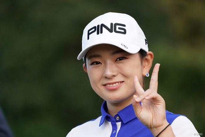 かわいい~ 2020年 スタンレーレディスゴルフトーナメント 最終日 吉川桃
