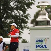 畑岡奈紗はイーグル発進 2020年 KPMG全米女子プロゴルフ選手権 4日目 畑岡奈紗