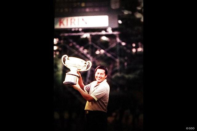 1988年大会を制した尾崎将司(画像資料提供:日本ゴルフ協会)