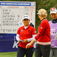 頂点には届かなかったが、6つ伸ばして堂々のフィニッシュ 2020年 KPMG全米女子プロゴルフ選手権 4日目 畑岡奈紗
