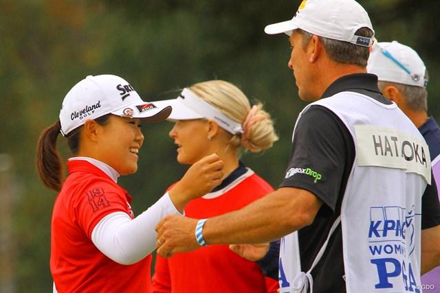 2020年 KPMG全米女子プロゴルフ選手権 最終日 畑岡奈紗 畑岡奈紗は11月「TOTOジャパンクラシック」に出場予定