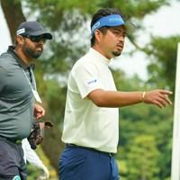 もうヒゲも違和感なく見慣れましたね。 2020年 日本オープンゴルフ選手権競技 事前 池田勇太