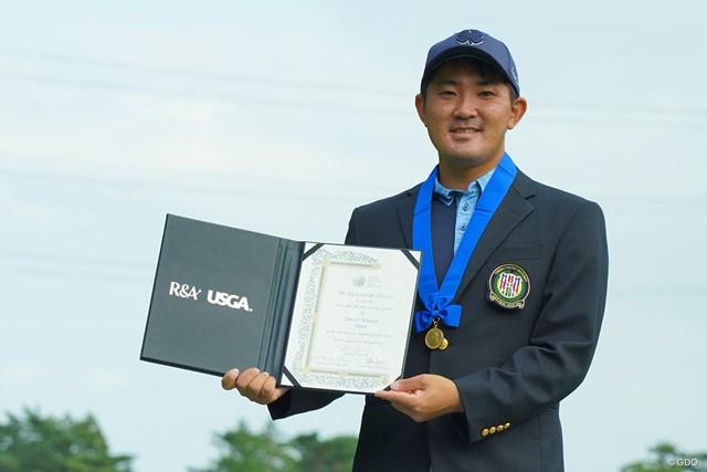 2020年 日本オープンゴルフ選手権競技 事前 金谷拓実 アマチュア世界一の称号を得てプロデビュー戦に臨む金谷拓実