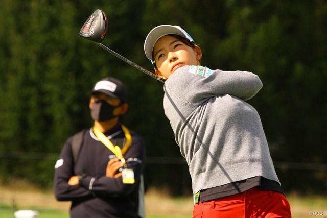 2020年 KPMG全米女子プロゴルフ選手権 事前 渋野日向子 指導する青木翔コーチの目からも変化が見えた