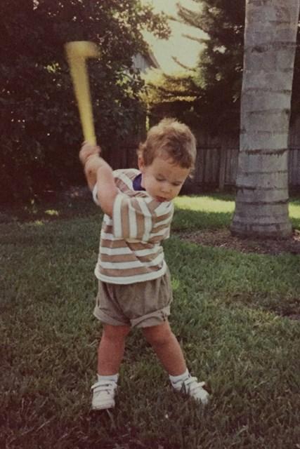ブルックス・ケプカ 幼い頃のブルックス・ケプカ。面影もしっかり(提供:PGATOUR)