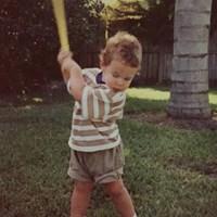 幼い頃のブルックス・ケプカ。面影もしっかり(提供:PGATOUR) ブルックス・ケプカ
