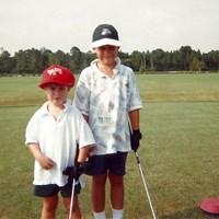 ブルックス・ケプカ(右)は弟のチェイスとともにプロゴルファーへの道を進んだ(提供:PGATOUR) ブルックス・ケプカ