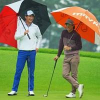 仲良しの先輩後輩。 2020年 日本オープンゴルフ選手権競技 初日 星野陸也 石川遼