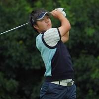 同組の谷口徹プロに触発されたかもね。 2020年 日本オープンゴルフ選手権競技 初日 今野大喜