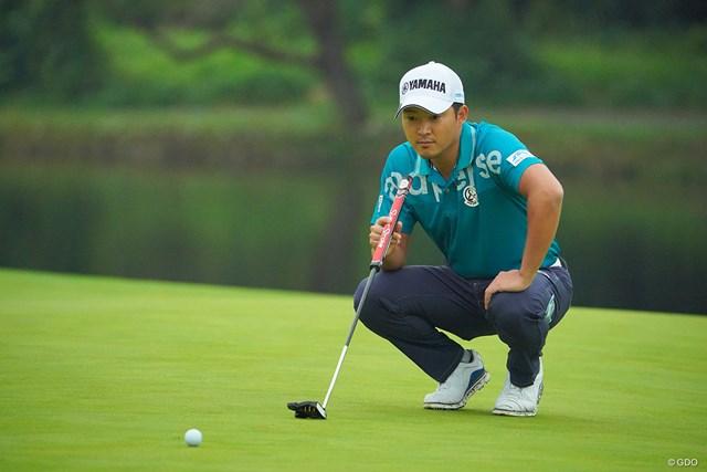 2020年 日本オープンゴルフ選手権競技 初日 今平周吾 ほら、やっぱりこのコース得意でしょ。