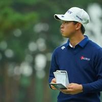 見据えるはアマチュア優勝! 2020年 日本オープンゴルフ選手権競技 初日 桂川有人