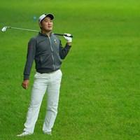 はい、元々スロースターターですからご心配なく。 2020年 日本オープンゴルフ選手権競技 初日 金谷拓実