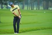 2020年 日本オープンゴルフ選手権競技 初日 額賀辰徳