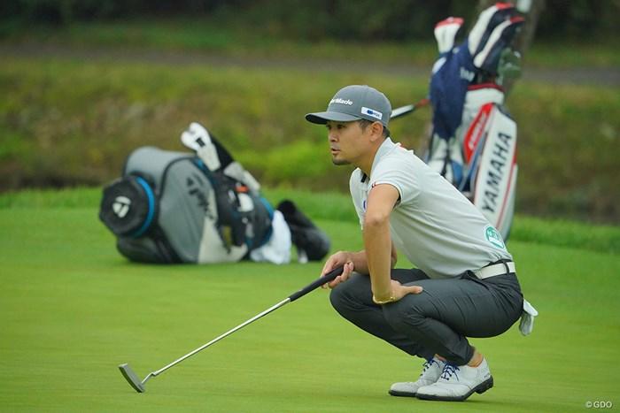昨年の日本オープンのリベンジを果たしたいが…74位タイスタートと出遅れてしまった。 2020年 日本オープンゴルフ選手権競技 初日 塩見好輝