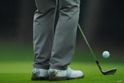 2020年 日本オープンゴルフ選手権競技 初日 アプローチ