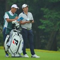 清水さんとのコンビはいつも好成績ですね。 2020年 日本オープンゴルフ選手権競技 初日 堀川未来夢