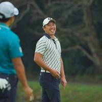 いつも笑顔なんです。 2020年 日本オープンゴルフ選手権競技 初日 堀川未来夢