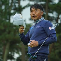 久々の日本オープンタイトル奪取に燃えてます。 2020年 日本オープンゴルフ選手権競技 初日 片山晋呉