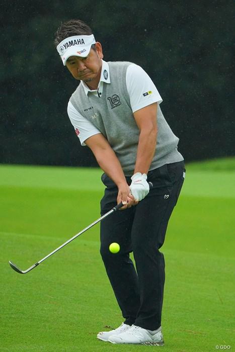 あー、藤田さんのアプローチの技術が欲しい。 2020年 日本オープンゴルフ選手権競技 初日 藤田寛之