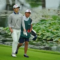 強いアマチュアがたくさんいるもんですなぁ。 2020年 日本オープンゴルフ選手権競技 初日 中島啓太