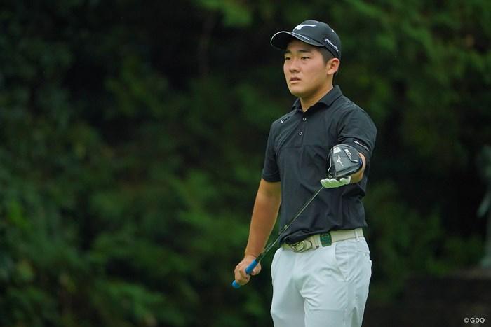 名前の通り、宝になれ! 2020年 日本オープンゴルフ選手権競技 初日 大嶋宝