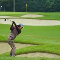 連なるバンカー。 2020年 日本オープンゴルフ選手権競技 初日 石川遼