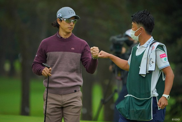 2020年 日本オープンゴルフ選手権競技 初日 石川遼 2番、ベタピン楽々バーディ!