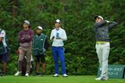 2020年 日本オープンゴルフ選手権競技 初日 石川遼 星野陸也 金谷拓実