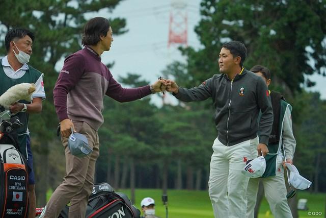 2020年 日本オープンゴルフ選手権競技 初日 石川遼 金谷拓実 2人の優勝争いが見たいものです。