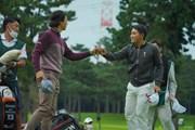 2020年 日本オープンゴルフ選手権競技 初日 石川遼 金谷拓実