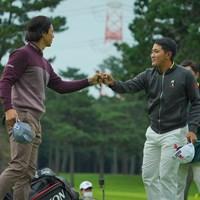 2人の優勝争いが見たいものです。 2020年 日本オープンゴルフ選手権競技 初日 石川遼 金谷拓実
