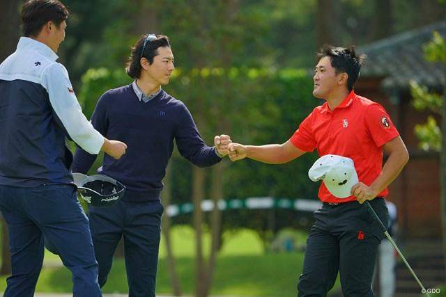2020年 日本オープンゴルフ選手権競技 2日目 金谷拓実 金谷拓実は徐々に順位を上げてムービングデーへ