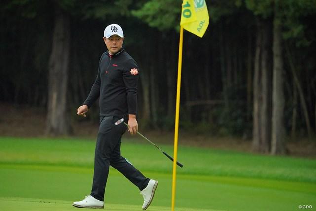 2020年 日本オープンゴルフ選手権競技 2日目 谷原秀人 4年ぶりの優勝を目指す谷原秀人
