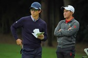 2020年 日本オープンゴルフ選手権競技 2日目 石川遼 金谷拓実