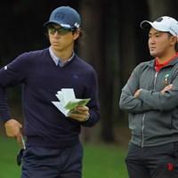 同組で伸ばし合った2人。 2020年 日本オープンゴルフ選手権競技 2日目 石川遼 金谷拓実