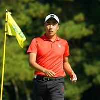 何故もこんなに強いアマチュアがいるんだろう。 2020年 日本オープンゴルフ選手権競技 2日目 杉原大河