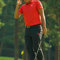 あちゃー!7番バーディならず、悔しさをあらわに。 2020年 日本オープンゴルフ選手権競技 2日目 杉原大河