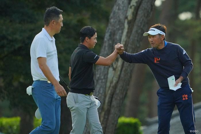 大ベテランに囲まれて緊張の予選ラウンドでしたかね。 2020年 日本オープンゴルフ選手権競技 2日目 桂川有人