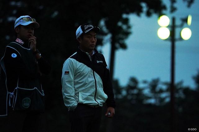 2020年 日本オープンゴルフ選手権競技 2日目 稲森佑貴 今日も最後はナイターに。