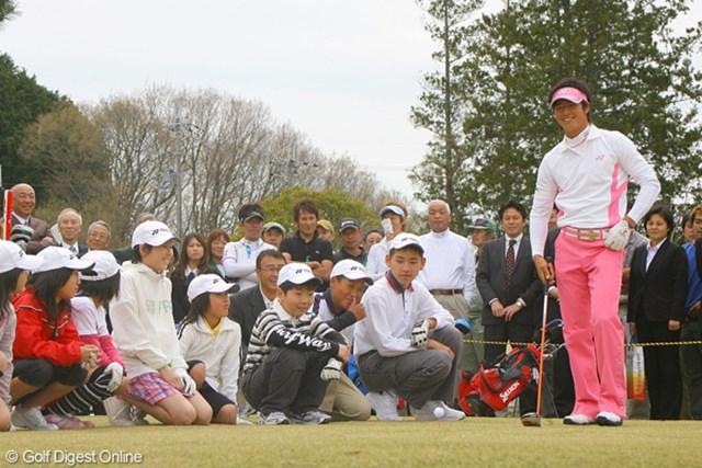 子供たちだけではなく、石川遼も多くのものを得たイベントとなったようだ
