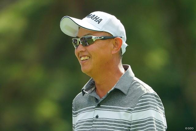 2020年 日本オープンゴルフ選手権競技 2日目 谷口徹 若いもんには負けへんでぇー!