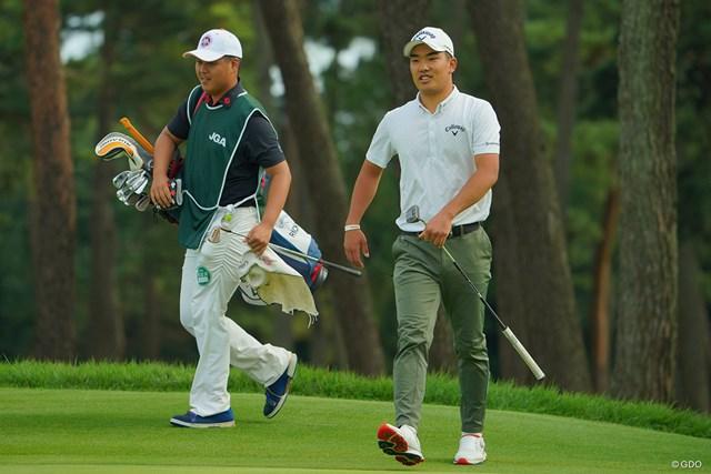 2020年 日本オープンゴルフ選手権競技 2日目 河本力 単独首位で決勝ラウンドに進んだ河本力