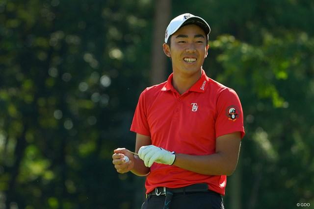 2020年 日本オープンゴルフ選手権競技 2日目 杉原大河 通算4アンダーで2位につけた杉原大河