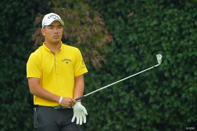 2020年 日本オープンゴルフ選手権競技 初日 河本力 初日では1Wを握ったのは4番、7番、12番の3ホールのみ ※写真は初日