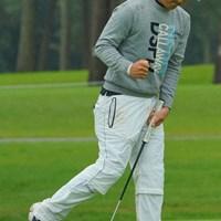 9番バーディで、ガッツポーズも飛び出した! 2020年 日本オープンゴルフ選手権競技 3日目 河本力